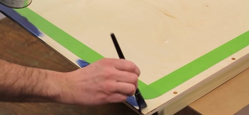 how to make a mini ping pong table