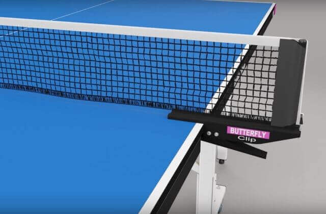 Clip-on Ping Pong Net