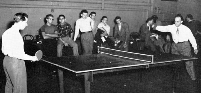 Where did Ping Pong Originate
