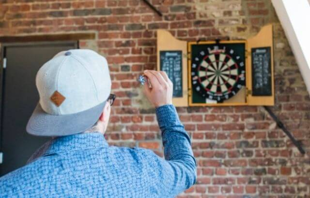 How far do you stand from Dart Board