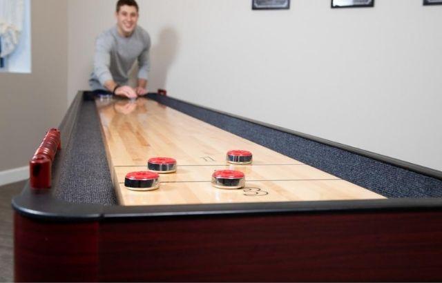 how long is shuffleboards