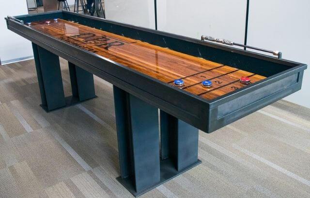 How long is a Shuffleboard