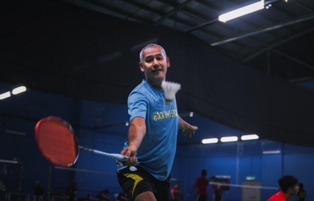 Is badminton a hard sport