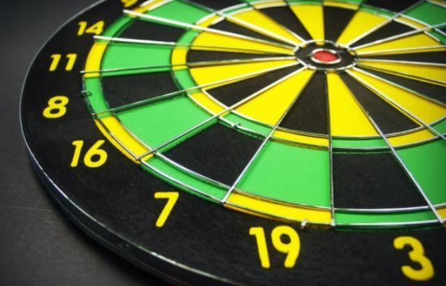 Regulation dartboard distance