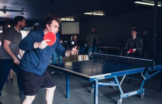 Table tennis serving rules diagonal