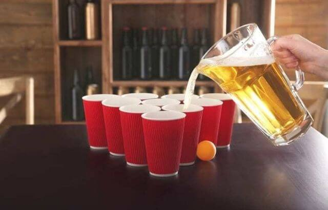 beer pong rules list