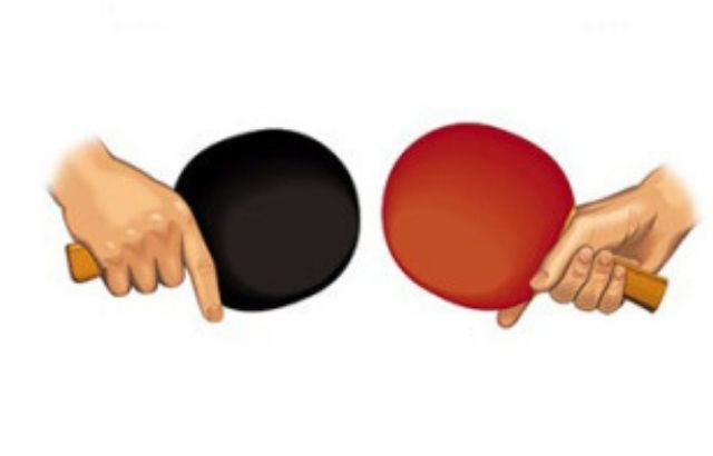 how to hit a ping pong ball