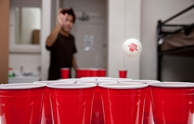 how to play beer pong video