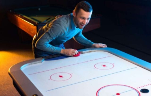 small air hockey table
