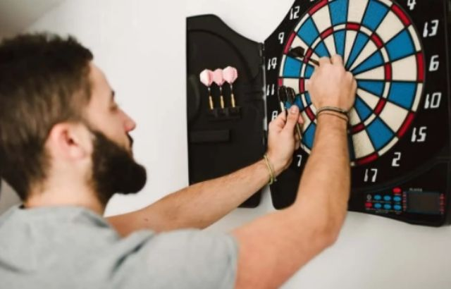 how to hit a double in darts