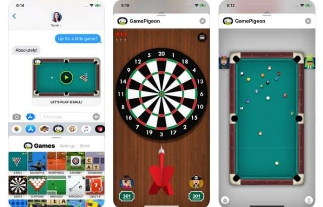 how to play darts on imessage