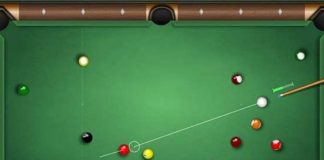 how to play pool on game pigeon