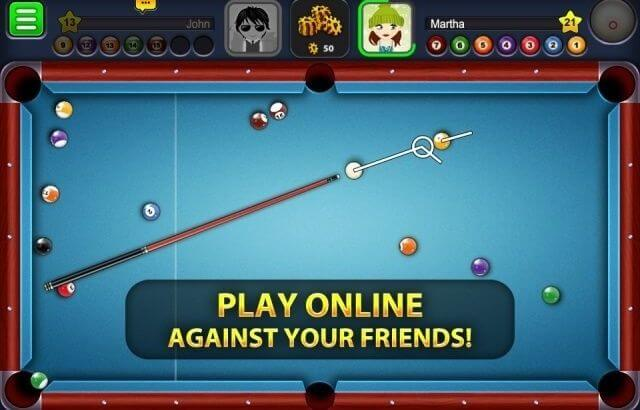 how to play pool on the iPhone