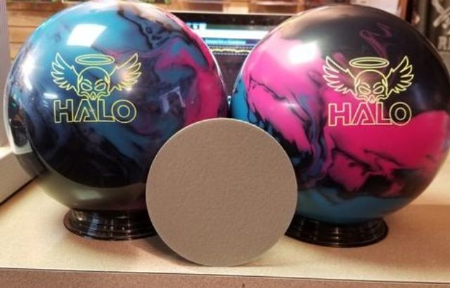 how to resurface a bowling ball with a spinner