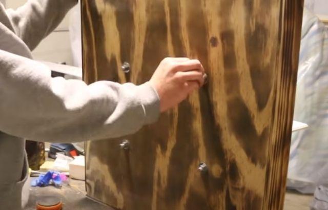 dartboard cabinet ideas