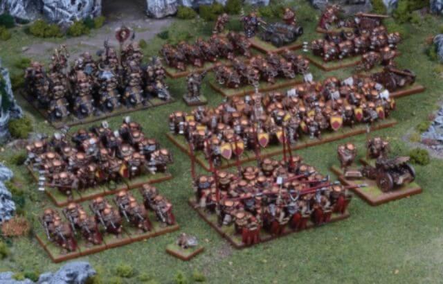 fantasy miniature wargames