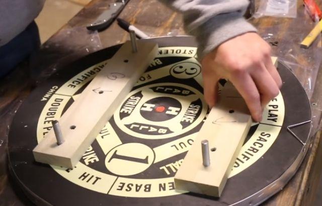 how to build a dart board backboard