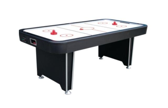 pledge on air hockey table