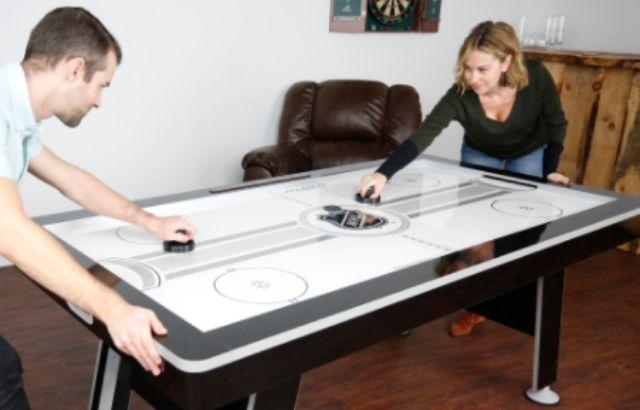 wd40 on air hockey table