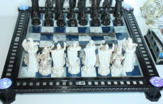 harry potter chess set deluxe