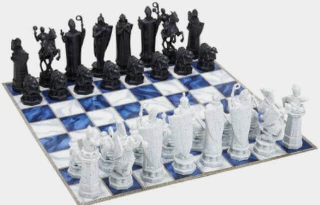 harry potter chess set marble