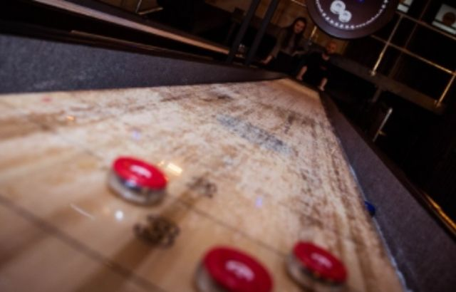 Shuffleboard rules on the line