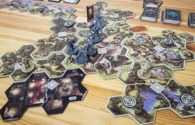 best Lords of the Rings board game