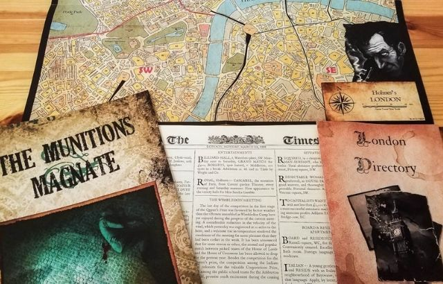 Best Sherlock Holmes Board Game