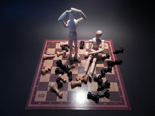 chess vs. checkers