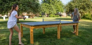 Can Ping Pong Table go Outside