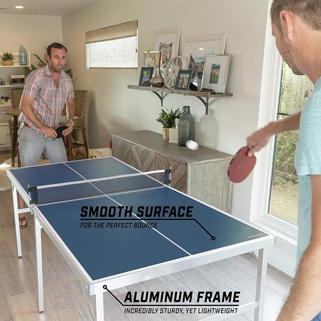 GoSports Mid-Size Table Tennis Game Set