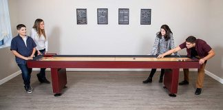 Best Size for a Shuffleboard Table