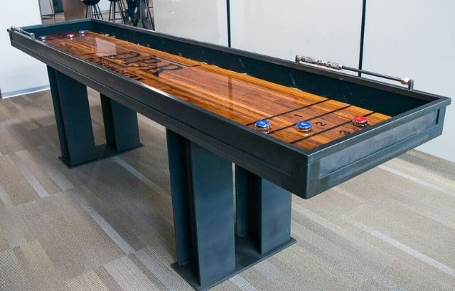 How Heavy is a 9 ft Shuffleboard Table