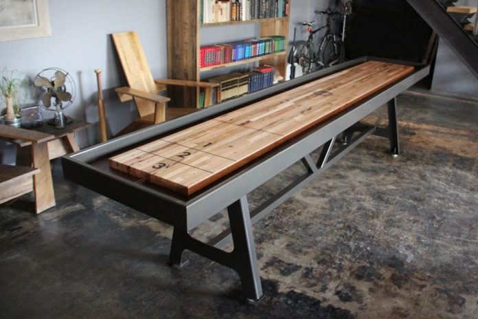 How much is a nice shuffleboard table