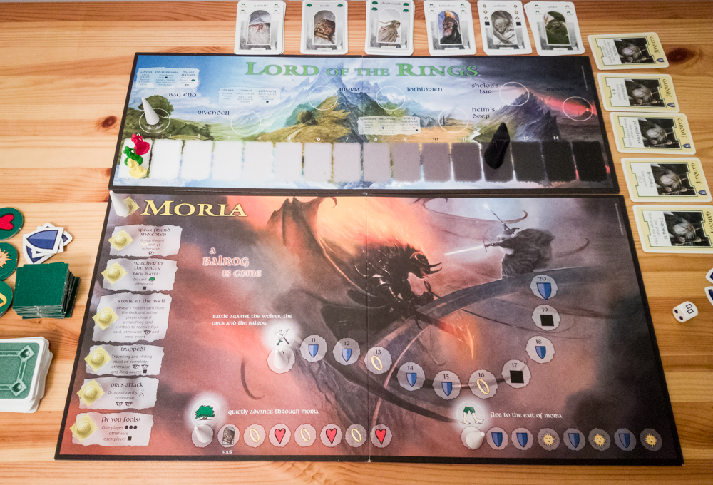 What is the Lord of the Rings board game