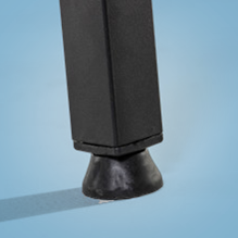 Leg Levelers can be adjusted